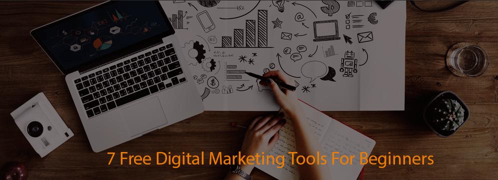 7 free digital marketing tools for beginner
